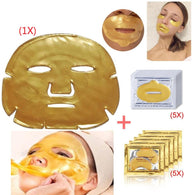 Gold Crystal Collagen Masks
