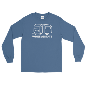 WE Trailer Mens Long Sleeve Camp Tee