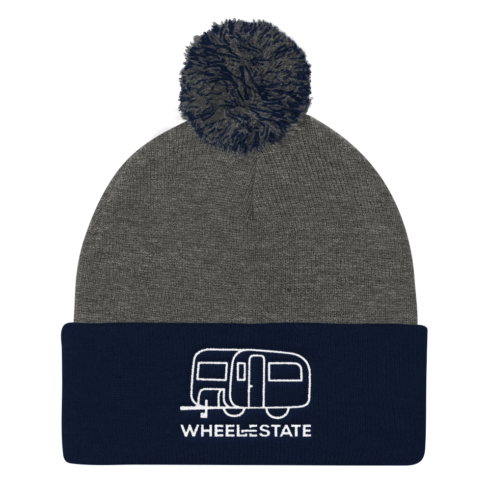 WE Trailer Pom Pom Knit Toque