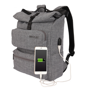 Multifunction External USB Charge Backpack