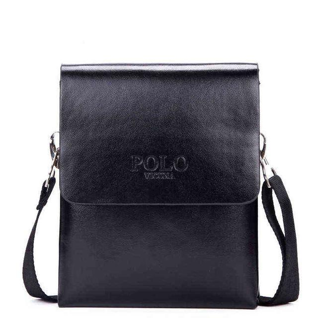 Double Pocket Messenger Bag