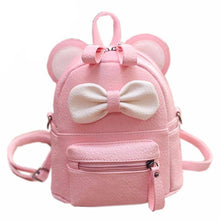 Bow and Mouse Small Backpack