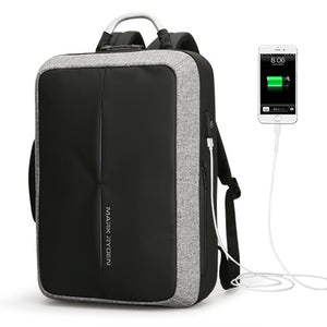Anti-thief USB Recharging Backpack