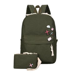 Preppy Style Backpacks