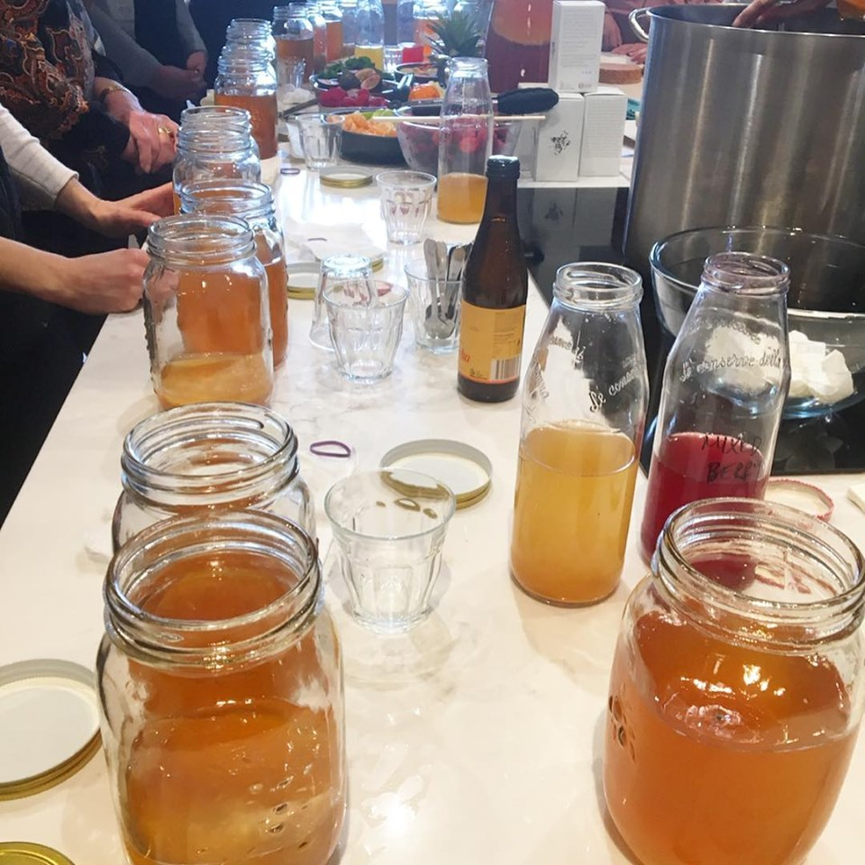 Read all about our Fun Flavours with Kombucha Workshop
