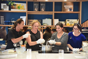 Fresh Cheese Making Class - Cooking Class - Heart Of Hall Cooking School Melbourne