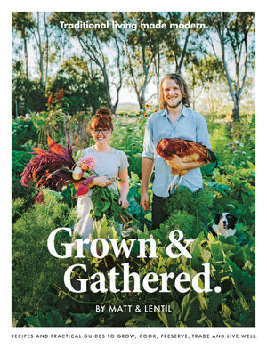 Grown & Gathered - Book - Heart Of Hall Cooking School Melbourne