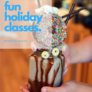 It's arrived! The Monster Shake Class - 10 July, 3:00PM -  - Heart Of Hall Cooking School Melbourne
