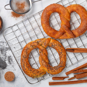 KIDS SCHOOL HOLIDAYS - Giant Pretzel Baking Cooking Class - TUESDAY 24th Sept, 2:30PM - Heart Of Hall