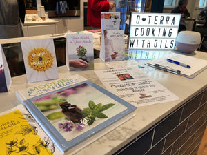 Cooking with Essential Oils - 8 Sept, 2 - 3.30PM - Cooking Class - Heart Of Hall Cooking School Melbourne