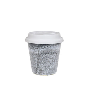 Robert Gordon Small Carousel Cup 280ml with White Lid - Storm