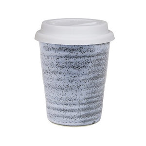 Robert Gordon Large Carousel Cup 375ml with White Lid - Storm - Homeware - Heart Of Hall Cooking School Melbourne