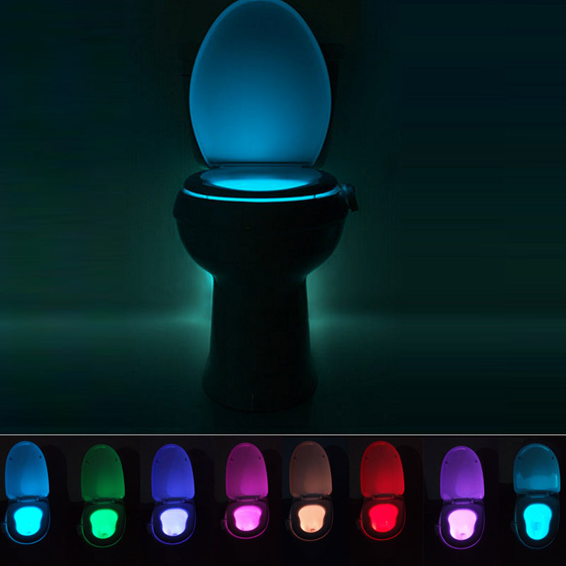 Motion sensor activated bathroom night lights happyhut motion sensor activated bathroom night lights mozeypictures Images