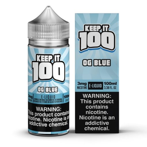Keep it 100 OG Blue Vape Juice 100ml