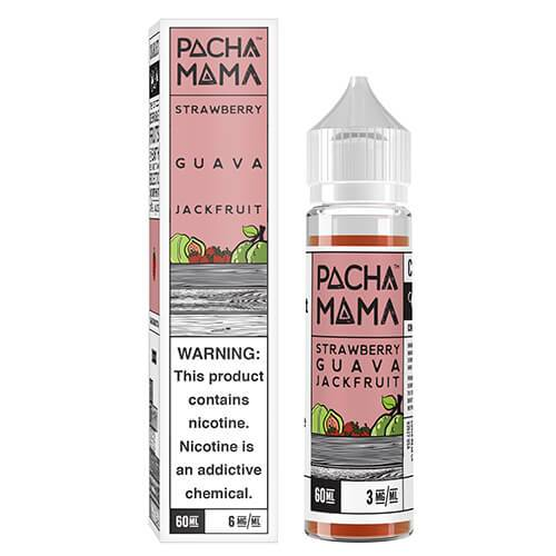 Pachamama Strawberry Guava and Jackfruit E-Liquid