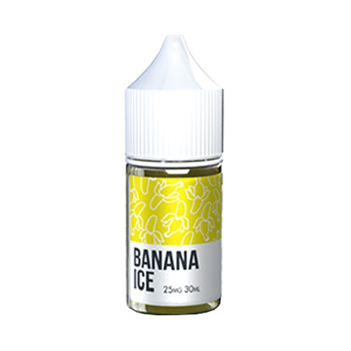 Saucy Banana Ice Salt Nic Vape Juice 30ml