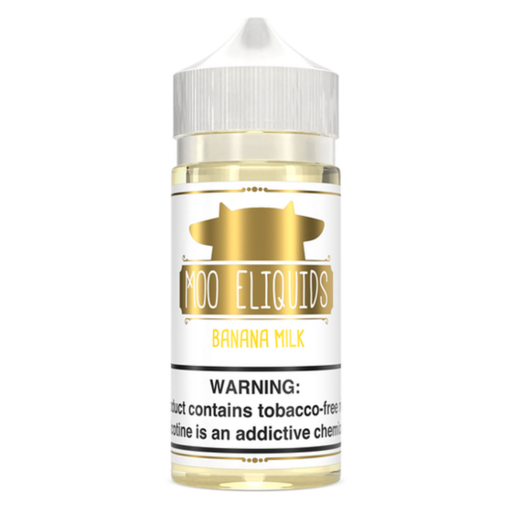 Moo Series Banana Milk TFN Vape Juice 100ml