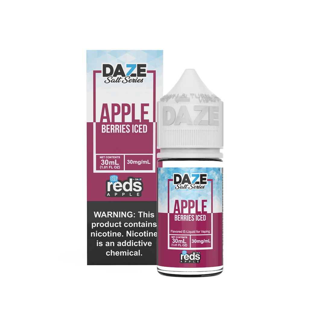 Reds Apple Berries Iced Nic Salt Vape Juice 30ml