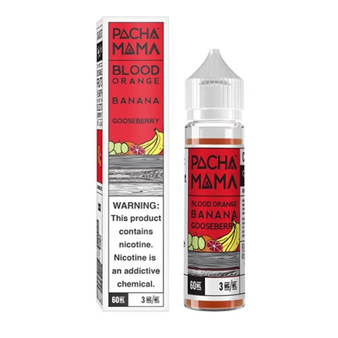 Pachamama Blood Orange Banana Gooseberry E-Liquid