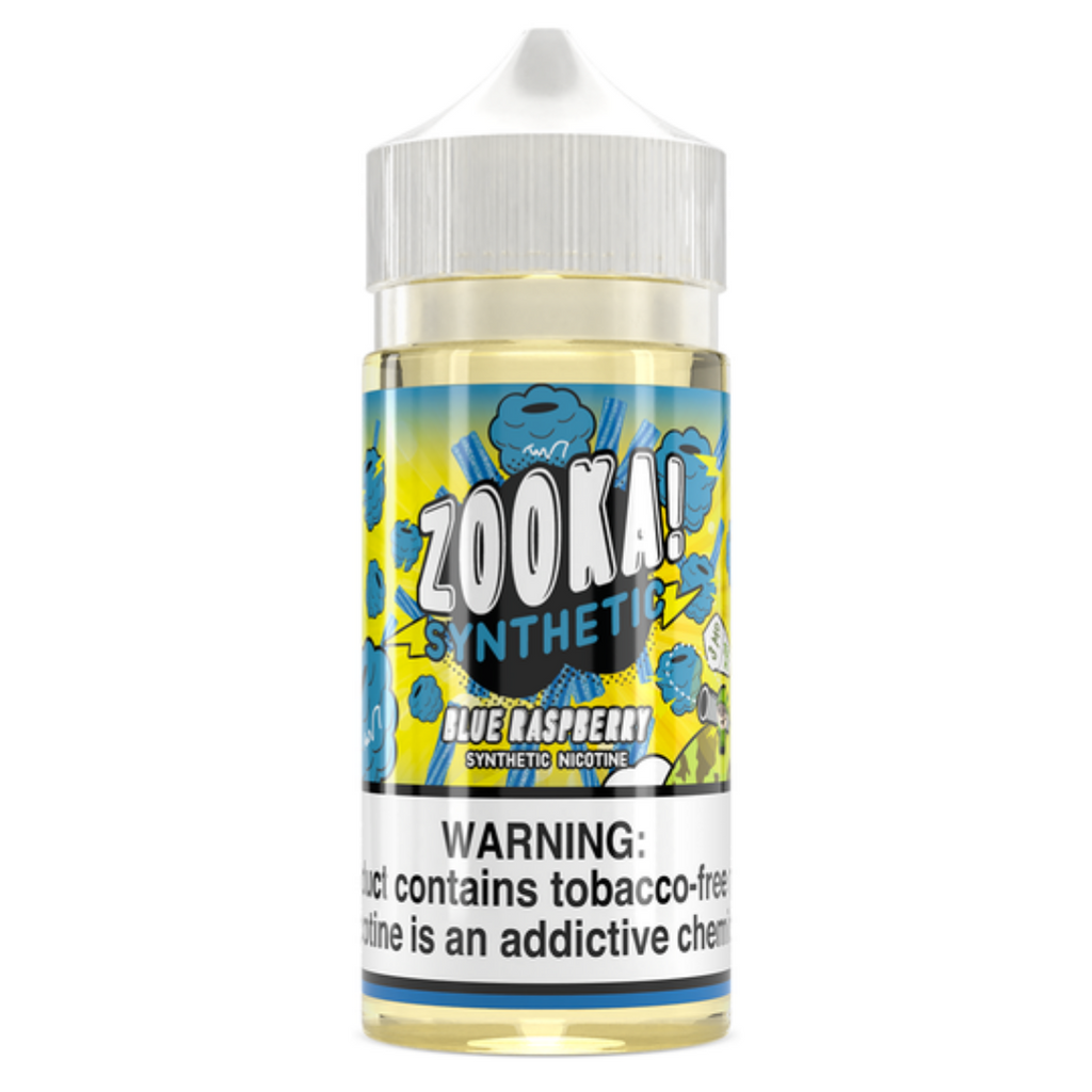 Zooka Blue Raspberry TFN Vape Juice 100ml