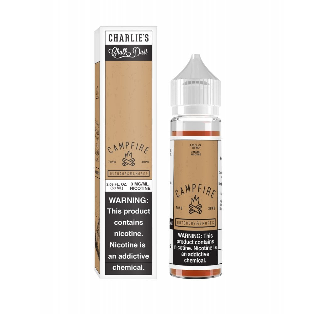 Charlie's Chalk Dust Campfire S'mores