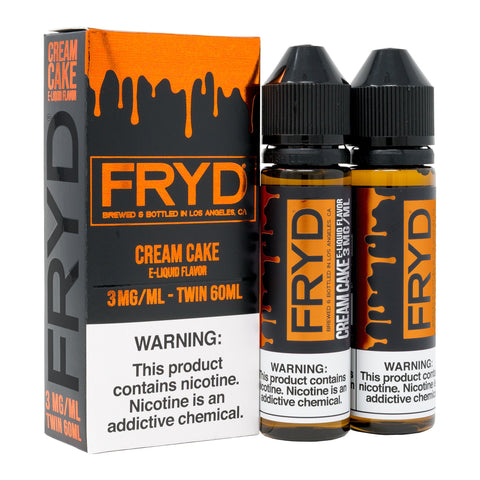 FRYD Drip Fried Cream Cake E-Liquid 120ml