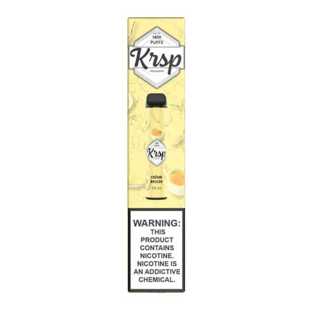 KRSP Disposable Vape Creme Brulee