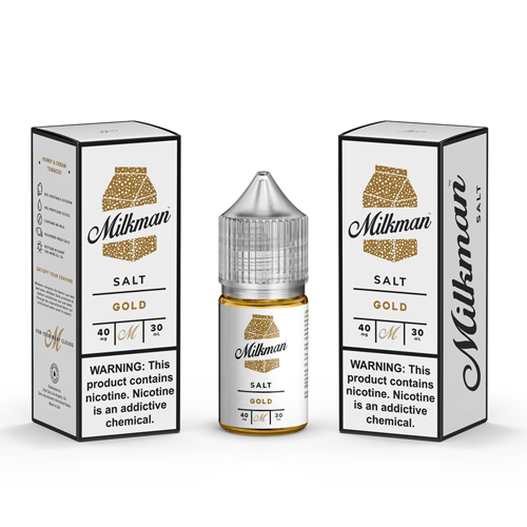 Milkman Salt Gold Nic Salt Vape Juice 30ml