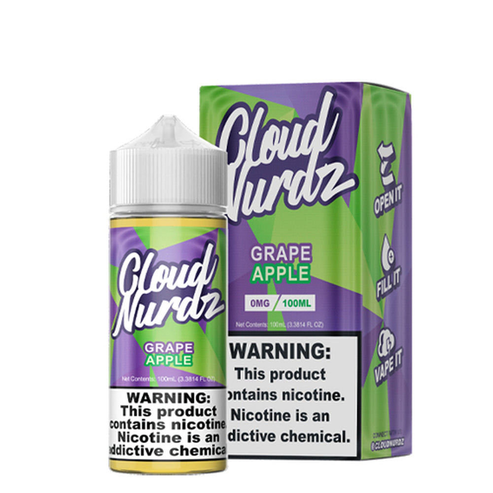 Cloud Nurdz Grape Apple E-Liquid 100ml