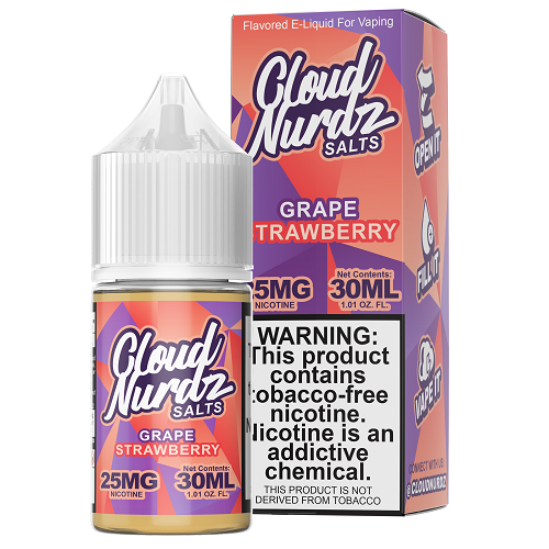 Cloud Nurdz Synthetic Grape Strawberry Salt