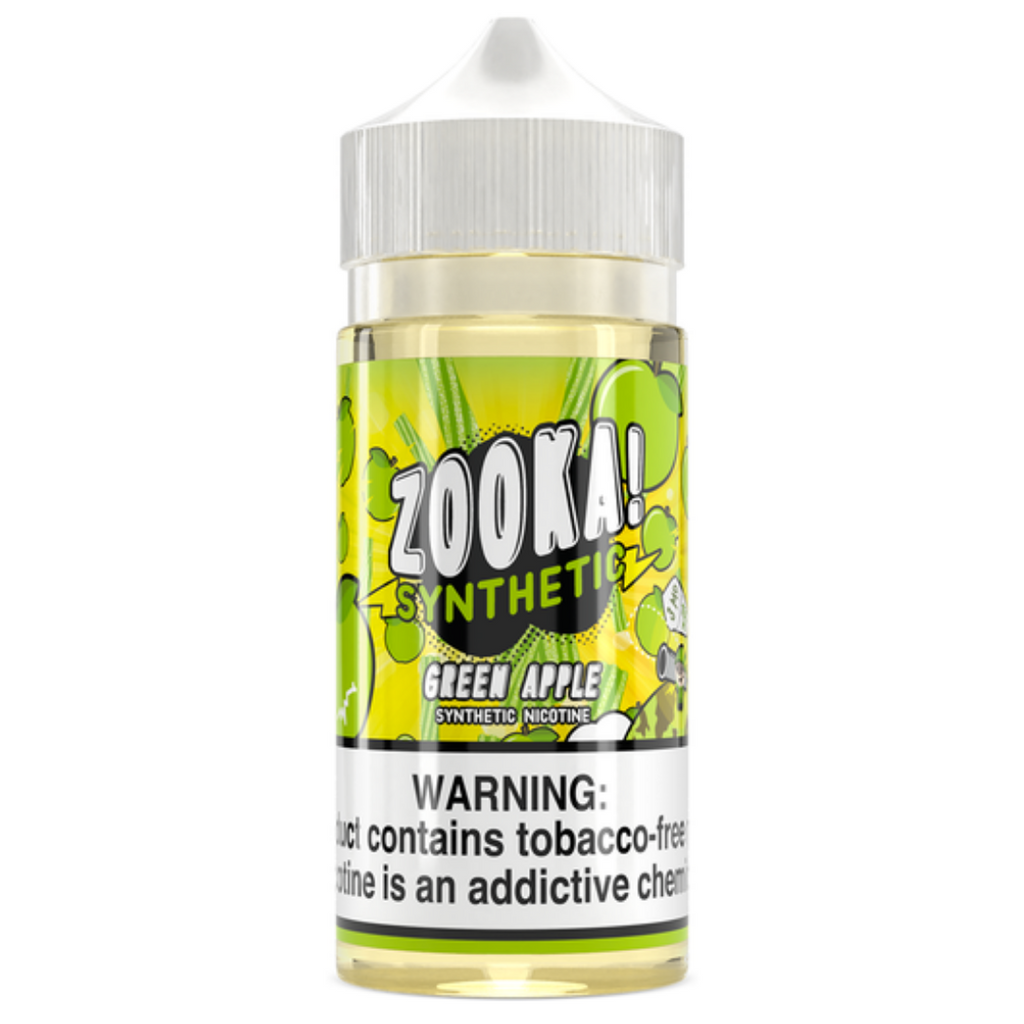 Zooka Green Apple TFN Vape Juice 100ml