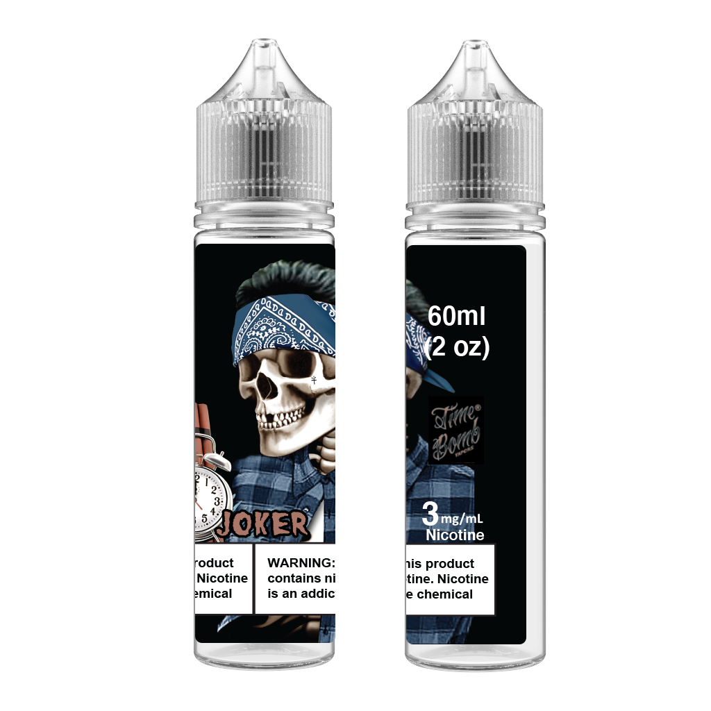 Time Bomb Vapors Joker Vape Juice 120ml