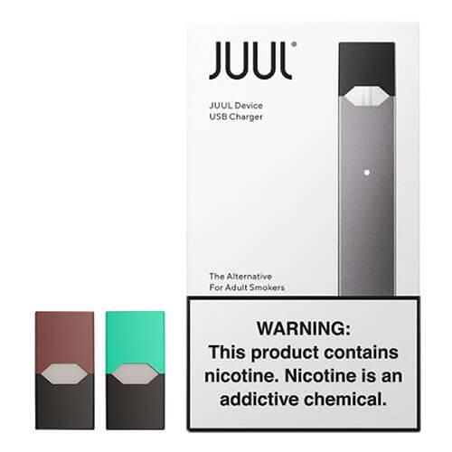 JuuL Starter Kit Includes Pods