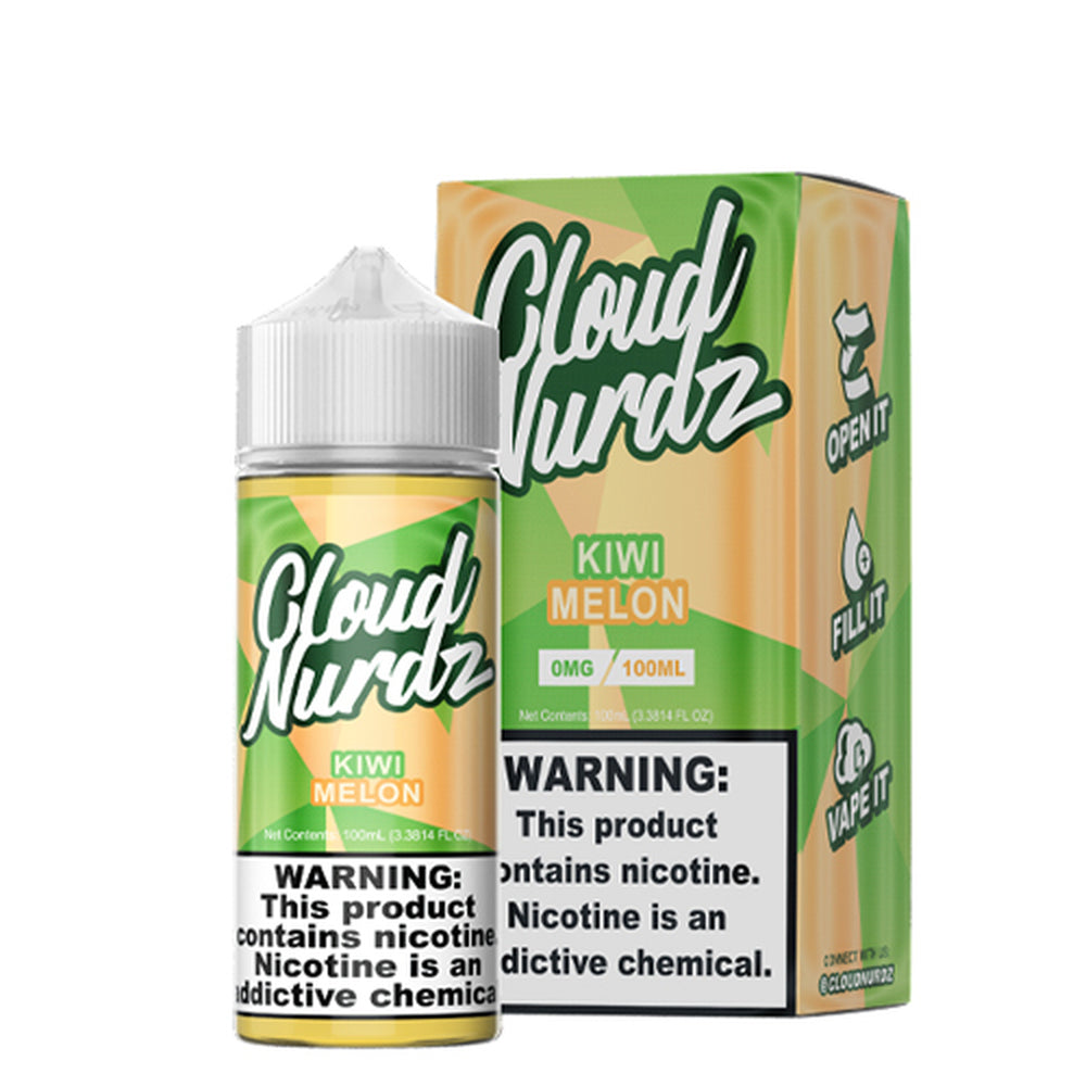 Cloud Nurdz Kiwi Melon E-Liquid 100ml