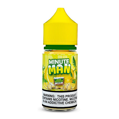 Minute Man Lemon Mint Ice Nic Salt