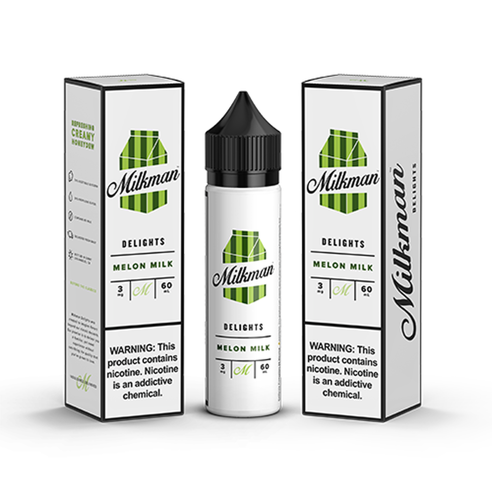 Milkman Delights Melon Milk Vape Juice 60ml