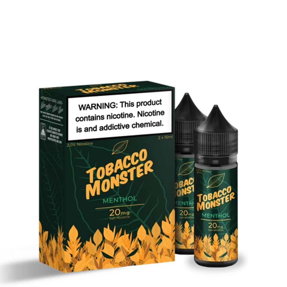 Tobacco Monster Menthol Salt Nic