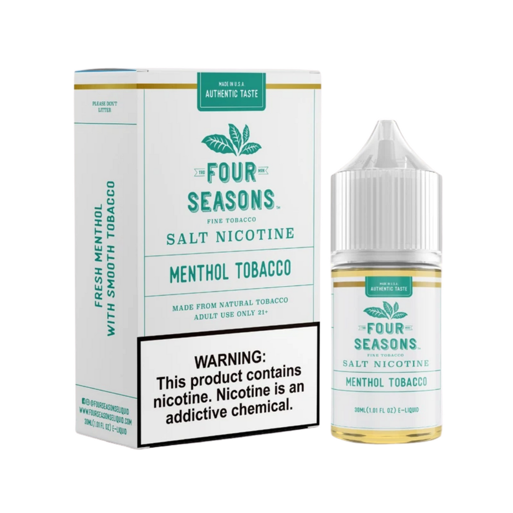 Four Season Menthol Tobacco Salt