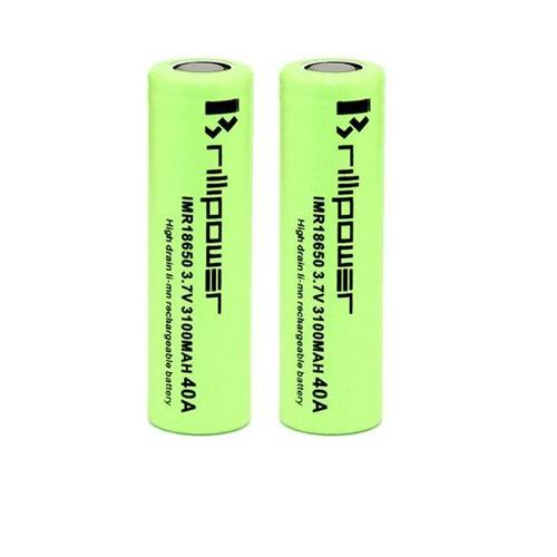 Brillipower 18650 3100Mah 40A