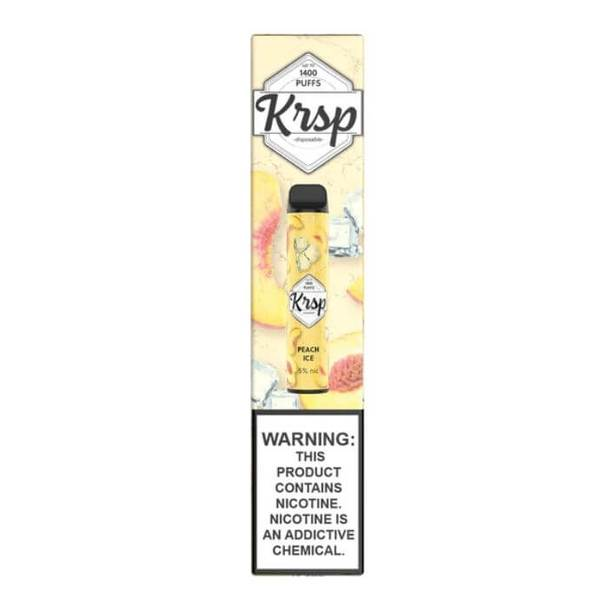 KRSP Disposable Vape Peach Ice