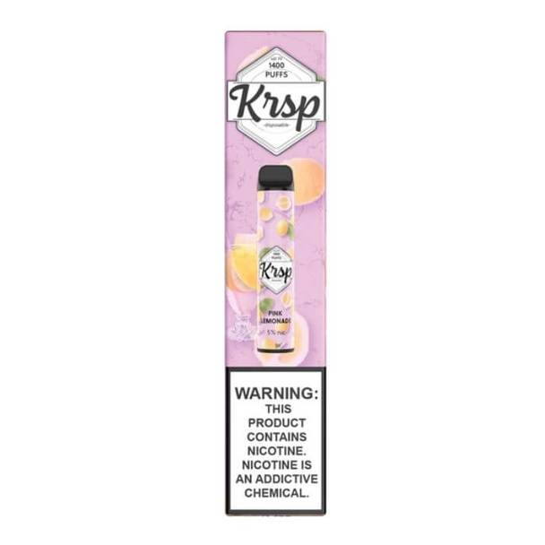 KRSP Disposable Vape Pink Lemonade