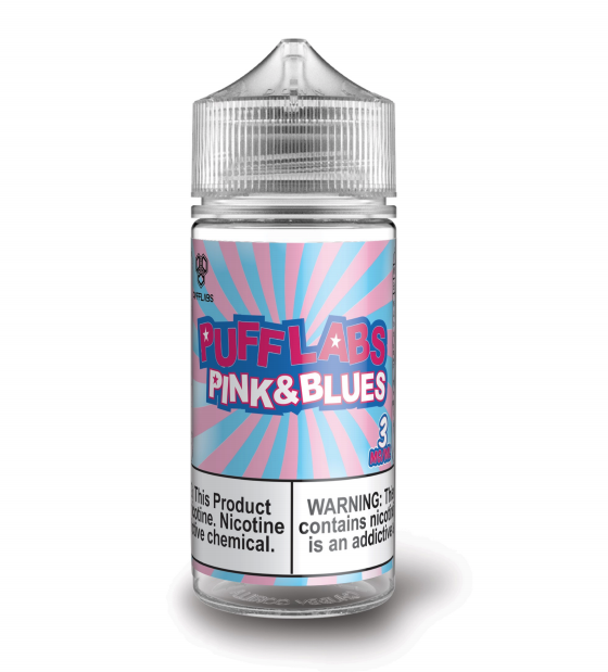 Puff Labs Circus Pink and Blue Vape Juice 100ml