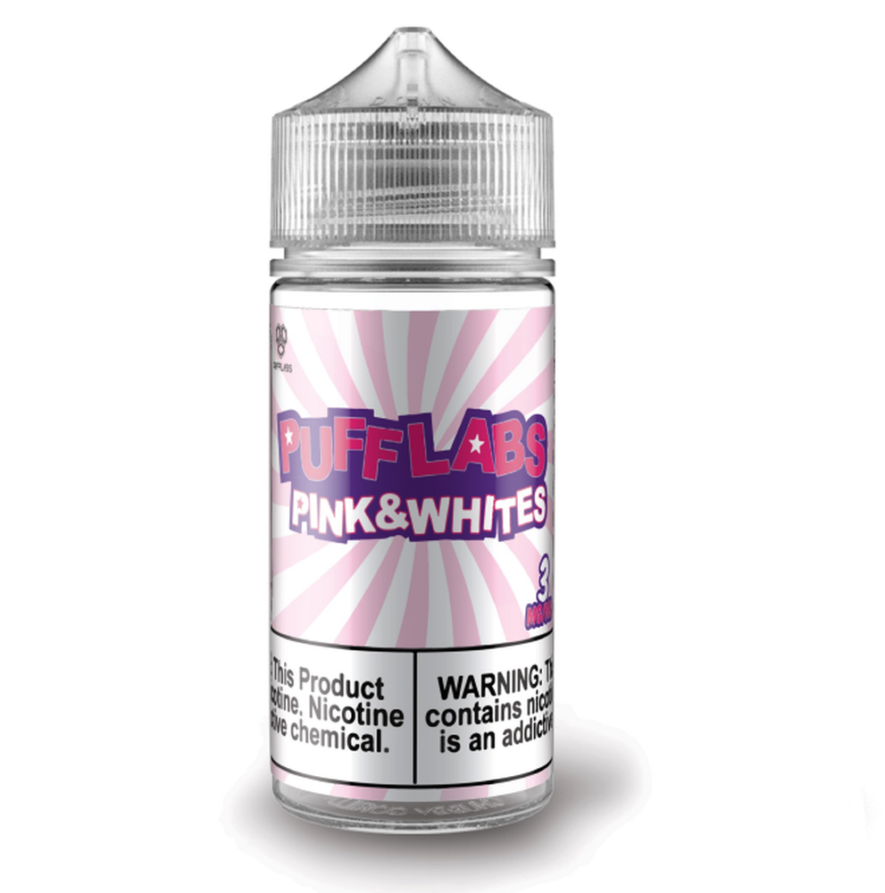 Puff Labs Circus Pink and Whites Vape Juice 100ml