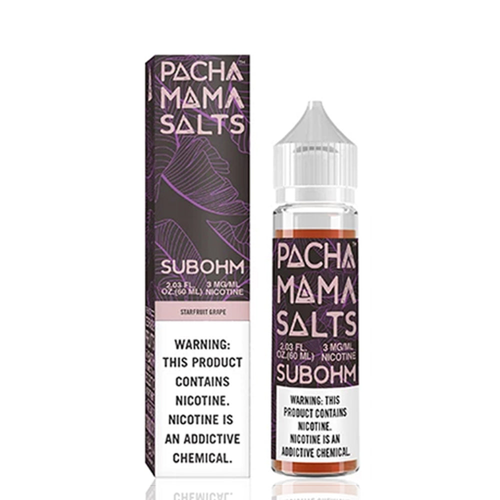 Pachamama Subohm Salt Starfruit Grape