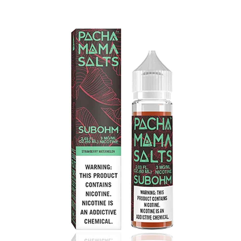 Pachamama Subohm Salt Strawberry Watermelon