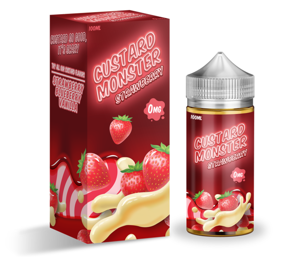 Custard Monster Strawberry