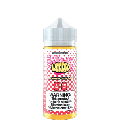 Loaded Strawberry Jelly Donut Vape Juice 120ml