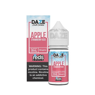 Reds Apple Strawberry Ice Nic Salt Vape Juice 30ml