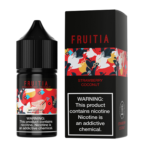 Fruitia Strawberry Coconut Salt