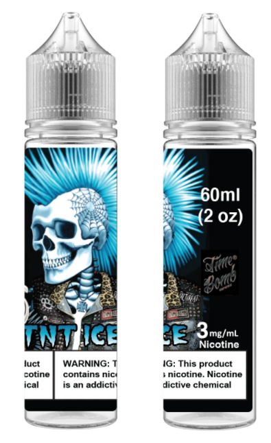 Time Bomb Vapors TNT Ice 60